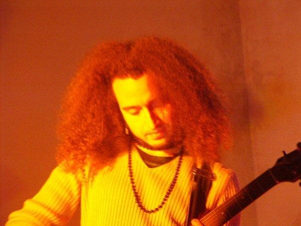 Young balkan guitar